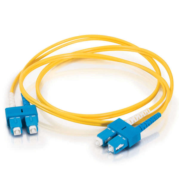 SC_PC-SC_PC Duplex SM OS1 YELLOW 3m LSZH